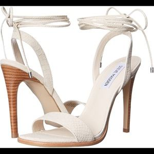 Steve Madden Faithful Lace Up Sandal Heels